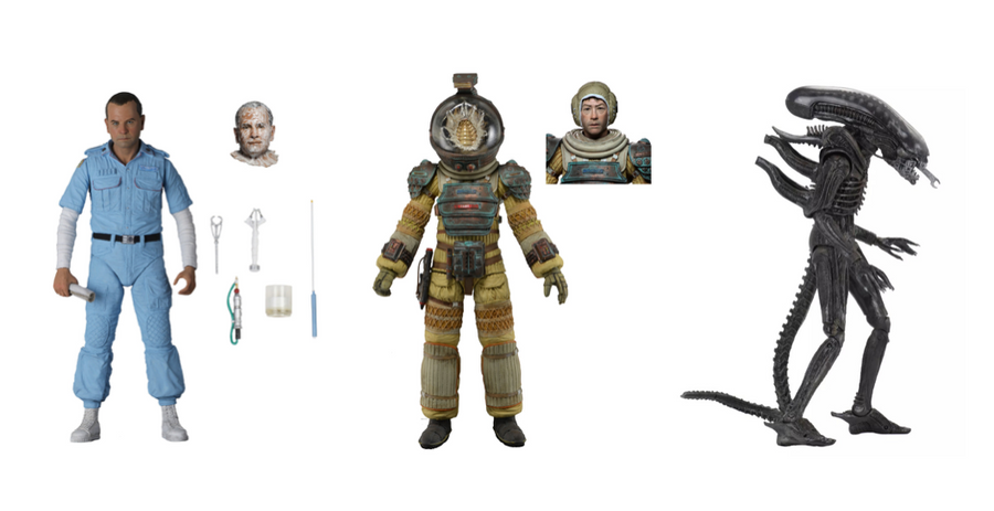 Alien Neca 40th Anniversary Series 3 Set of 3 Action Figures Pre-Order