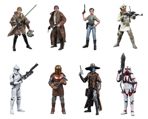 Star Wars Black Series Wave 27 Set Of Eight Action Figure Pre-Order