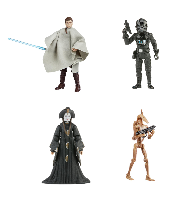 Star Wars The Vintage Collection 2021 Wave 1 Set of 4 Action Figure Pre-Order
