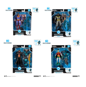 DC Multiverse McFarlane Merciless Series Set of 4 Action Figures Pre-Order
