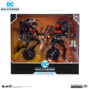 DC Multiverse McFarlane Exclusive Nightwing & Red Hood Action Figure 2-Pack