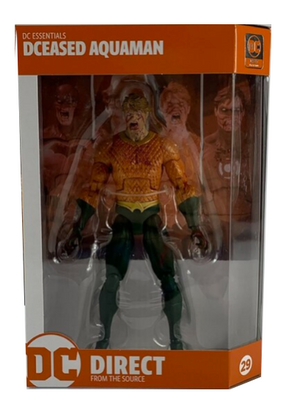 DC Essentials DCeased Aquaman Action Figure