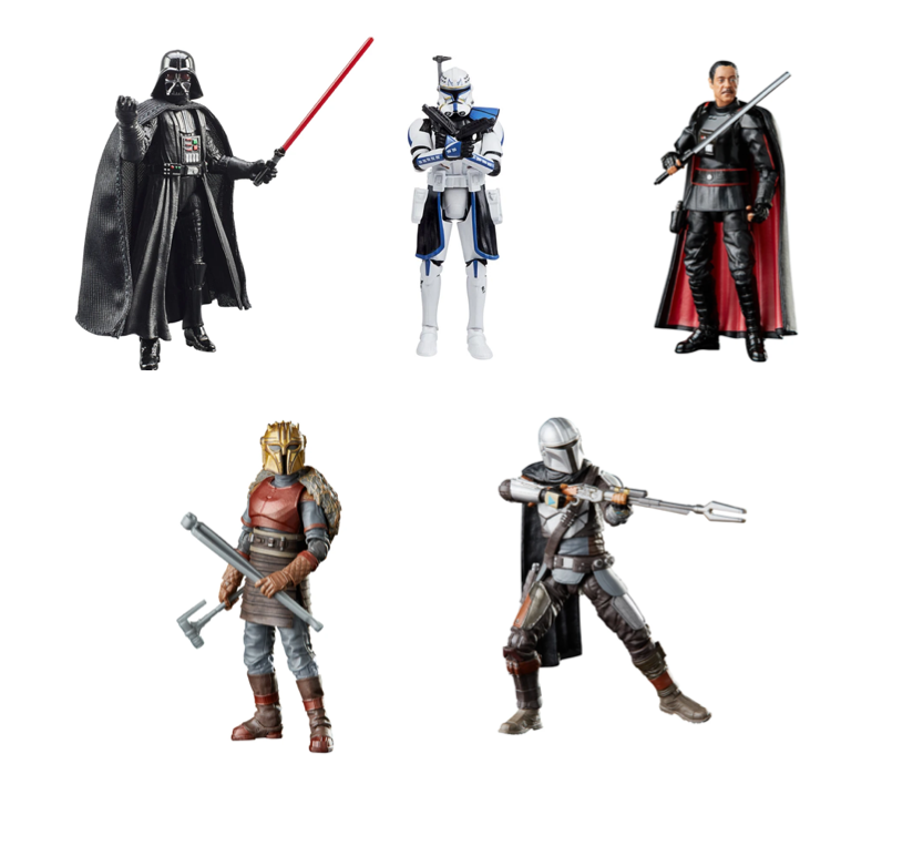 Star Wars The Vintage Collection 2021 Wave 2 Set of 5 Action Figure Pre-Order