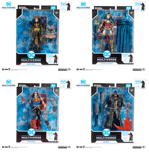 DC Multiverse McFarlane Darkfather Series Set of 4 Action Figures Pre-Order