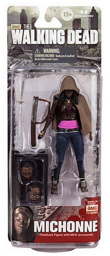 The Walking Dead Tv Series 6 Six Action Flashback Figure Michonne