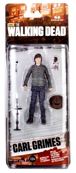 The Walking Dead Tv Series 7 Seven Action Figure Carl Grimes