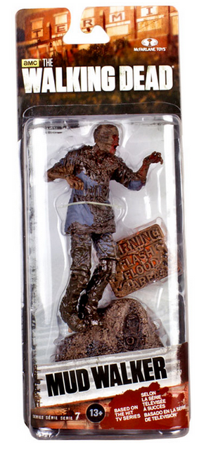The Walking Dead Tv Series 7 Seven Action Figure Mud Walker Zombie