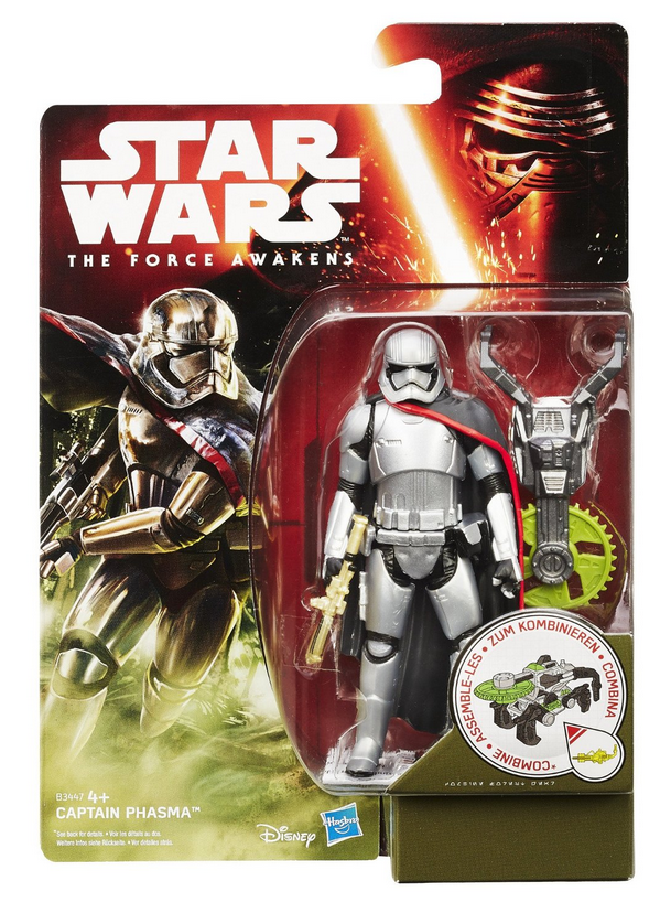 Star Wars The Force Awakens Captain Phasma 3.75 Inch Action Figure