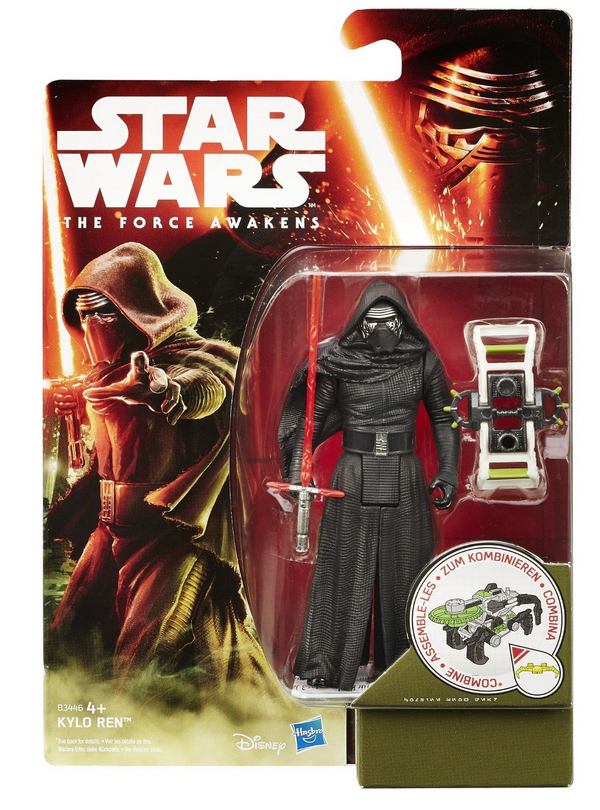 Star Wars Force Awakens Kylo Ren 3.75 Inch Action Figure