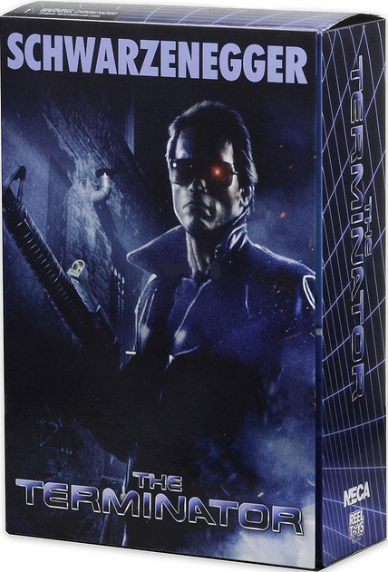 Neca The Terminator Ultimate Police Station Assault T-800 Action Figure