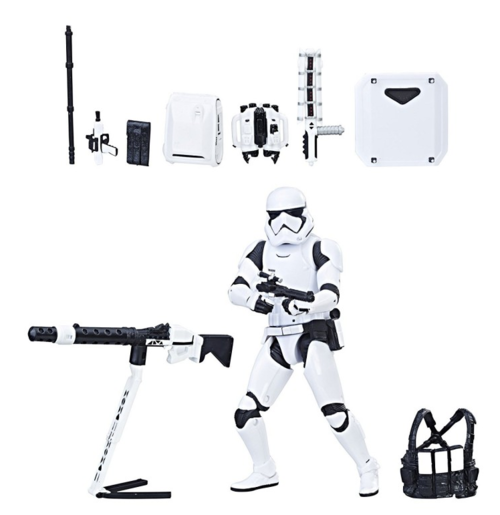 Star Wars Black Series Exclusive Deluxe First Order Stormtrooper w/ Gear Takara Tomy Action Figure