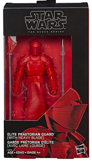 Star Wars Black Series Exclusive Elite Praetorian Guard w/ Heavy Blade Takara Tomy Action Figure