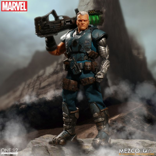 Marvel Mezco Cable One:12 Scale Action Figure Pre-Order
