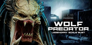 Alien v Predator Sideshow Collectibles Wolf Predator Legendary Scale Bust Statue - Action Figure Warehouse Australia | Comic Collectables