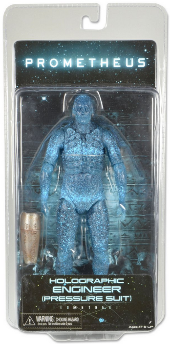 Prometheus Neca Holographic Engineer Pressure Suit Action Figure