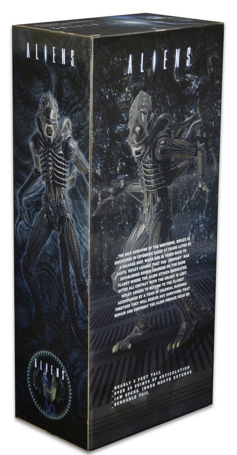 Aliens Neca Alien Warrior 30th Anniversary 1:4 Scale Action Figure - Action Figure Warehouse Australia | Comic Collectables