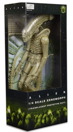 Alien Neca Alien Xenomorph Translucent Prototype Suit 1:4 Scale Action Figure - Action Figure Warehouse Australia | Comic Collectables