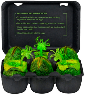 Alien Neca Xenomorph Egg Carton Glow in the Dark - Action Figure Warehouse Australia | Comic Collectables