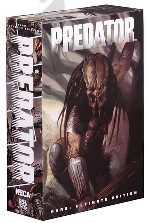 Predator Neca Ultimate Ahab Predator Action Figure