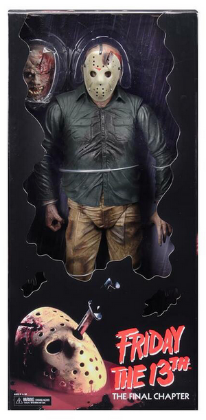 Friday The 13th Neca Part 4 Jason Vorhees 1:4 Scale Action Figure Pre-Order