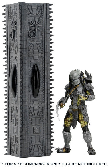 Alien v Predator Neca Pyramid Pillar Element Diorama - Action Figure Warehouse Australia | Comic Collectables