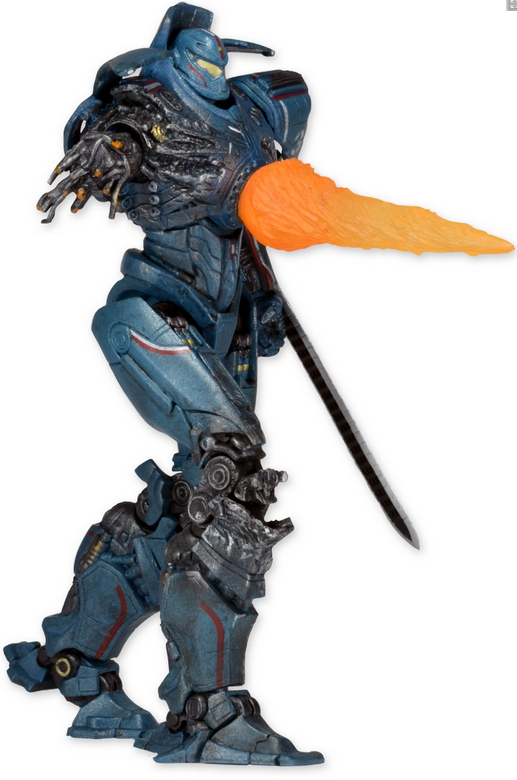 Pacific Rim Neca Series 6 Gipsy Danger Reactor Blast Action Figure