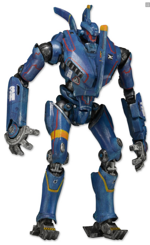 Pacific Rim Neca Series 5 Jaeger Romeo Blue Action Figure