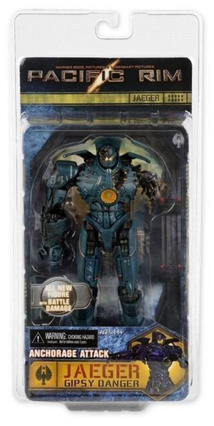 Pacific Rim Neca Series 5 Jaeger Gipsy Dancer Anchorage Attack Action Figure