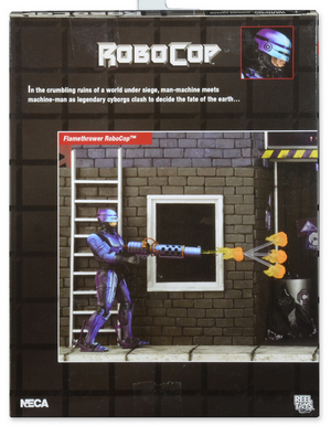 Robocop v Terminator Neca Robocop Flame Thrower Action Figure