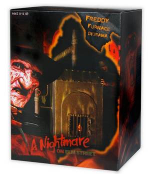 A Nightmare On Elm Street Neca Freddy Kruegers Furnace Diorama - Action Figure Warehouse Australia | Comic Collectables