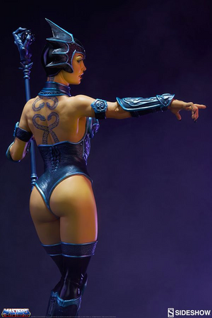 Masters Of The Universe Sideshow Collectibles Classic Evil Lyn 1:5 Scale Statue