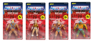 Masters Of The Universe Vintage Series Wave 2 Set Of Four Action Figure