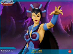 Masters Of The Universe Culture Shock Collectibles Classic Evil Lyn 1:4 Scale Statue