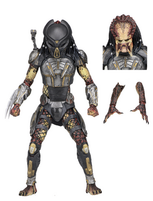 Predator Neca Ultimate Fugitive Predator Action Figure