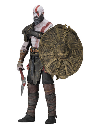God Of War Neca Kratos 1:4 Scale Action Figure