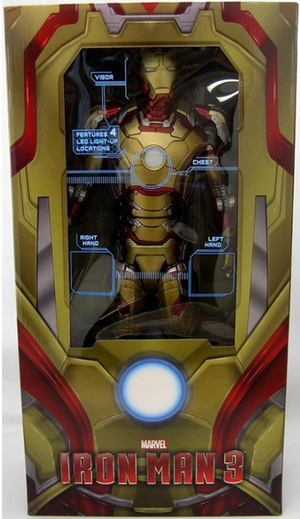 Marvel Neca Iron Man 3 Mark 42 1:4 Scale Action Figure