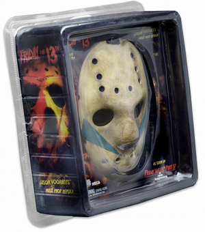 Friday The 13th Neca Part 5 Jason Vorhees Mask Prop Replica