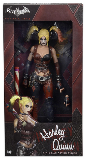 DC Neca Batman Arkham City Harley Quinn 1:4 Scale Action Figure - Action Figure Warehouse Australia | Comic Collectables