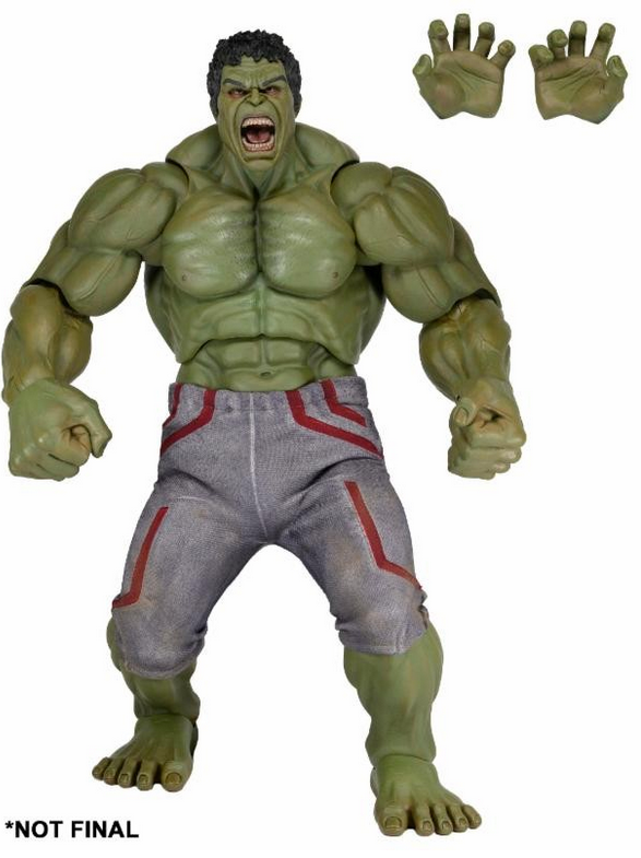 Marvel Neca Avengers Hulk 1:4 Scale Action Figure