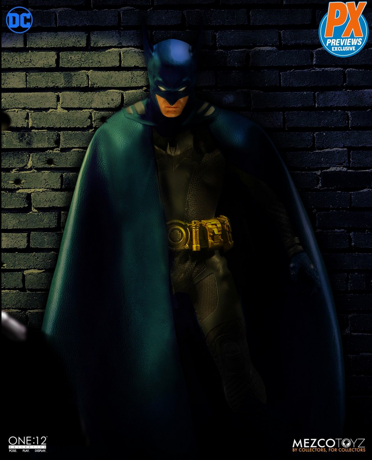 DC Mezco PX Previews Exclusive Batman Ascending Knight Blue Version One:12 Action Figure - Action Figure Warehouse Australia | Comic Collectables