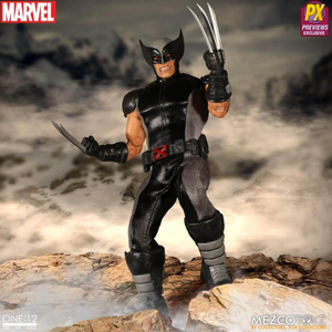 Marvel Mezco PX Previews Exclusive X-Force Wolverine One:12 Scale Action Figure