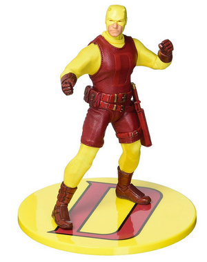 Marvel Mezco PX Previews Exclusive Yellow Daredevil One:12 Scale Action Figure