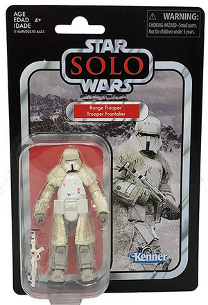 Star Wars The Vintage Collection Solo Imperial Range Trooper Action Figure Pre-Order