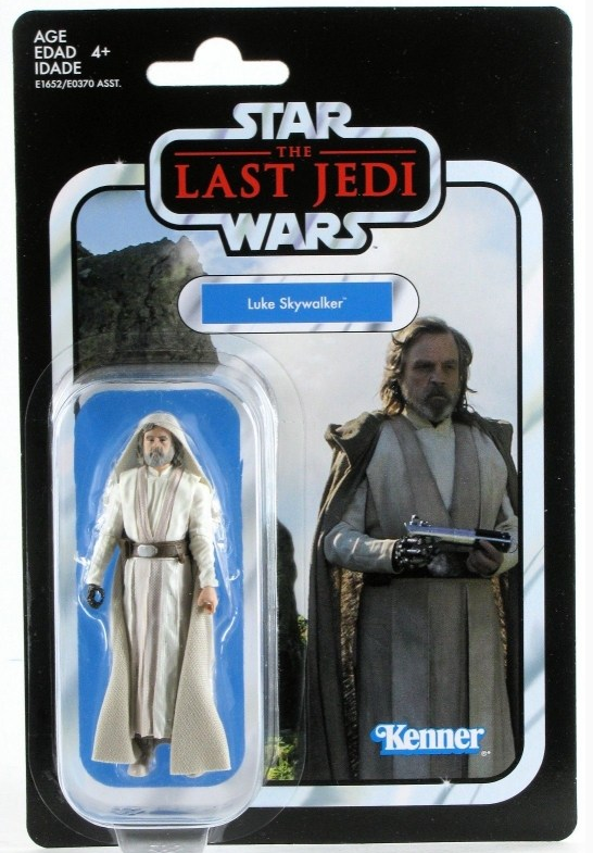 Star Wars The Vintage Collection Last Jedi Luke Jedi Master Action Figure