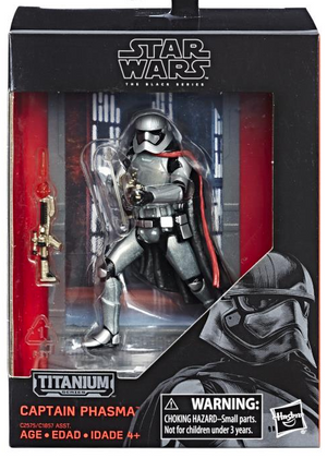 Star Wars Titanium Series 40th Anniversary Wave 2 Set of Four Action Figure