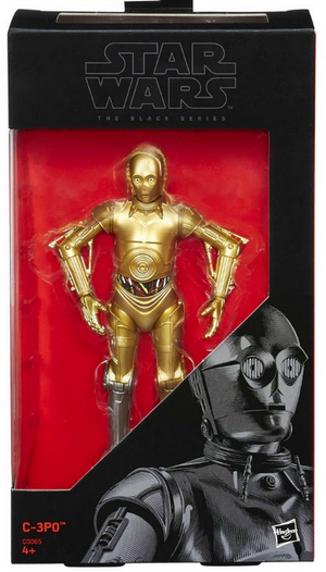 Star Wars Black Series Exclusive C-3PO Action Figure