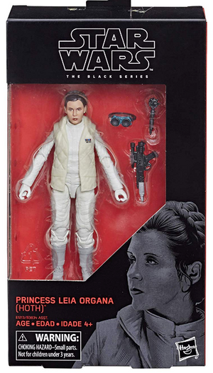 Star Wars Black Series Princess Leia Hoth #75 Action Figure