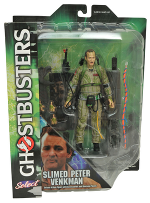 Ghostbusters Diamond Select Slimed Peter Venkman Series 4 Action Figure