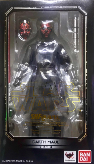 Star Wars Bandai SH Figuarts Episode I Darth Maul Action Figure