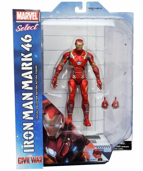 Marvel Diamond Select Iron Man Mark 46 Action Figure